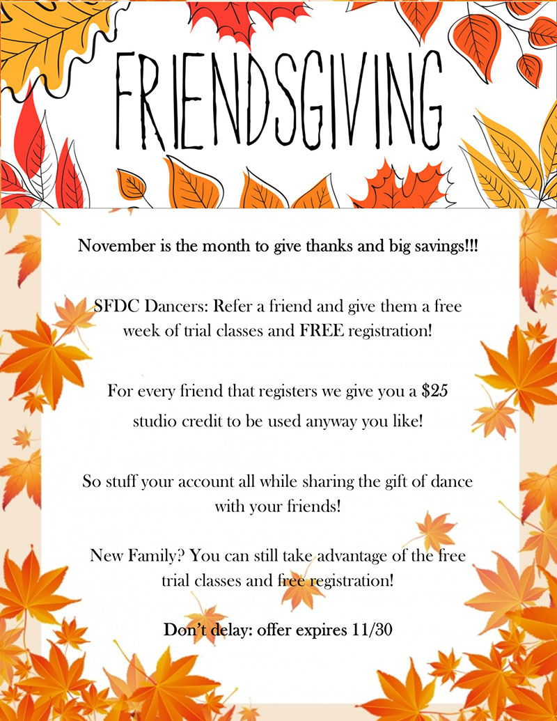 South Florida Dance - Friendsgiving Promo