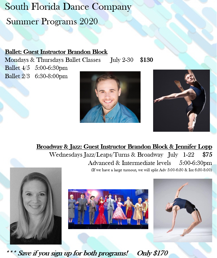 South Florida Dance - Summer Intensive