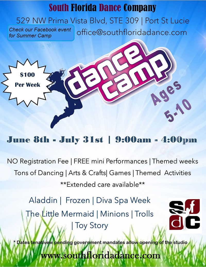 South Florida Dance - Summer Dance Camp