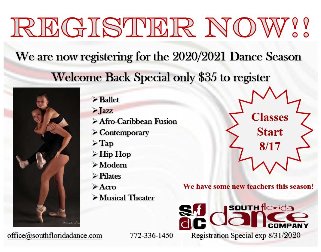 South Florida Dance - Registration Special